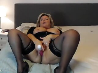 Mature Blonde Is Jacking Elsewhere