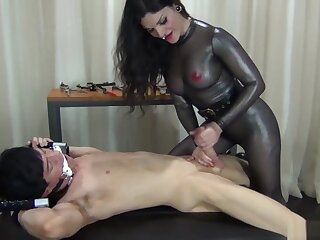 Lose your BALLS the Femdom way! - castration tease after handjob