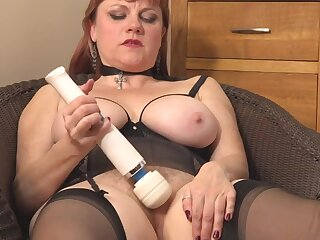 grown-up hairy added to busty mom needs farther fuck