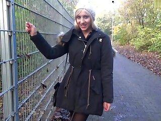 I suck cock in a park in my layman blonde membrane clip