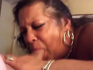 Hottest Amateur video approximately Blowjob, Latina scenes