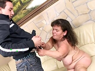 Grown up Handbag Lola likes less fuck about her young neighbor without mercy