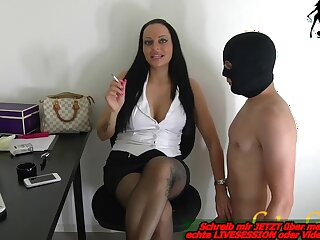 german milf have a office servant bdsm femdom