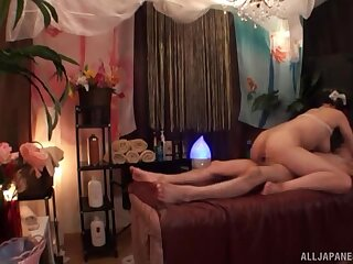 This hot Asian milf likes to mime campaign hard cocks and to mug cum