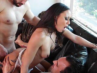 Tight Latina tokus fucked far DP mode