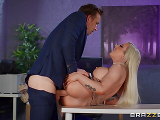 Broad there the beam breasts sinner Skyler McKay fucked hard there the berth