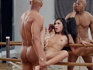 Molly Stewart watches as A dancer Gianna Dior fucks for a lead role