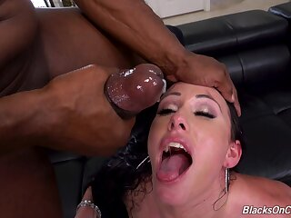 MILF gets blacked in DP modes then made to swallow