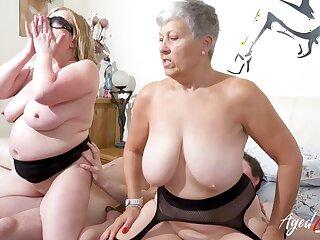 AgedLovE Take charge British Matures Hard Group Sex