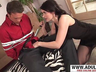 Realy Nice Step-mama Eva Karera Making out Good Touching Dads Friend