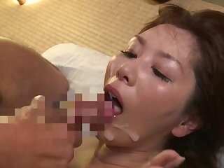Japanese mature swallows a develop into verification having her pussy ripped apart