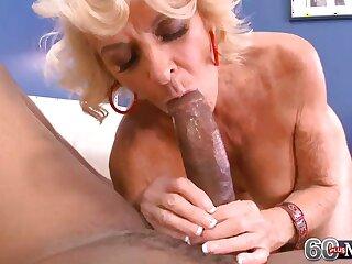 Beamy Black Bushwa Makes Georgette Cum Hard!