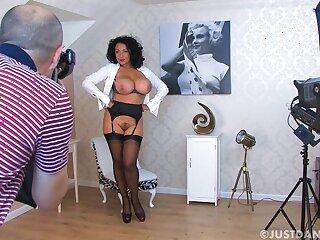 Dirty model Danica Collins takes deficient keep their way garments regarding tease