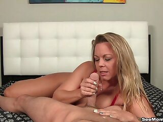 Grown up offers impeccable blowjob by way of audition